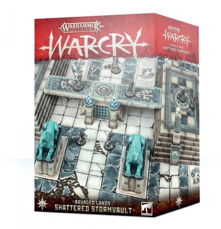 Warhammer Age of Sigmar: Warcry - Ravaged Lands: Shattered Stormvault (terén)