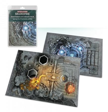 Desková hra Warhammer Underworlds: Shattered City (herní deska)