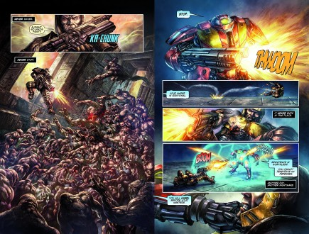 Komiks Quake Championship #1