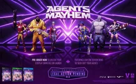 Agents of Mayhem: Day One Edition