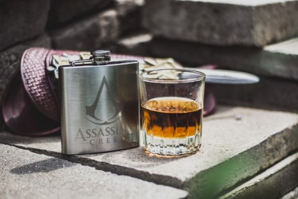 Assassin's Creed Hip Flask Logo