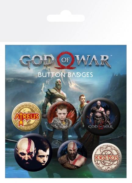 Odznaky God of War - Mix