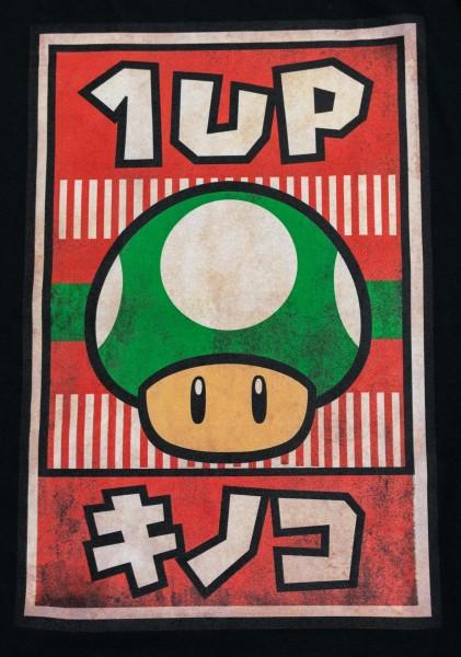 tričko 1-up mushroom
