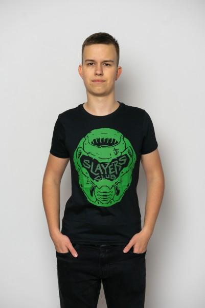 Tričko Doom: Eternal -  Slayers Club (velikost L)