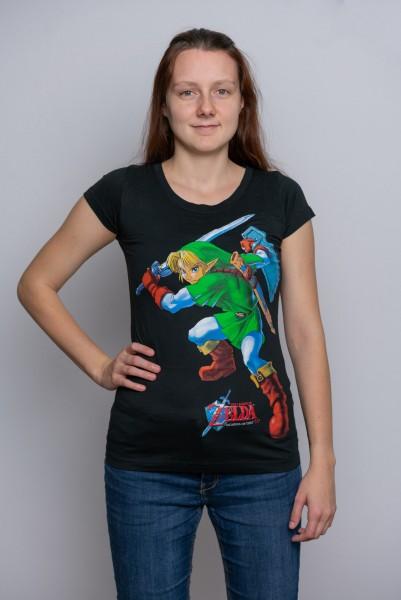Tričko dámské The Legend Of Zelda - Ocarina Of Time (velikost S)