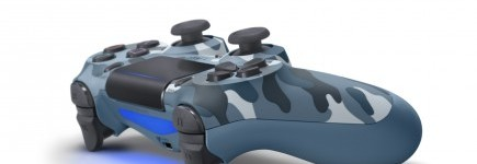 DualShock 4 ovladač - Blue Camouflage V2