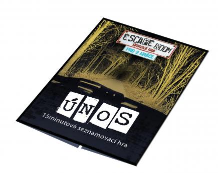 Desková hra Escape Room: Úniková hra pro 2 hráče
