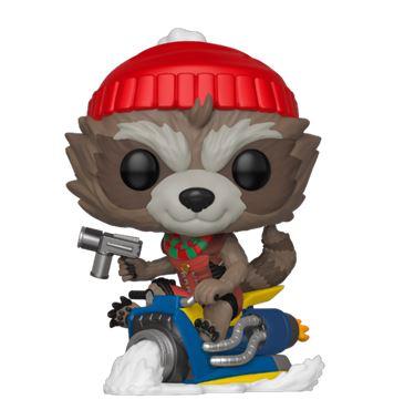 Figurka Marvel - Rocket Holiday (Funko POP! Marvel 531)