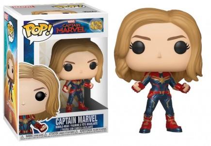 Figurka Marvel - Captain Marvel (Funko POP! Marvel 425)