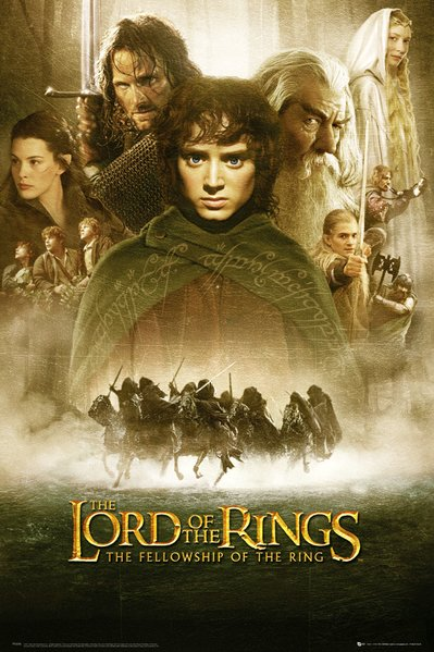 Plakát Lord of the Rings - The Fellowship of the Ring