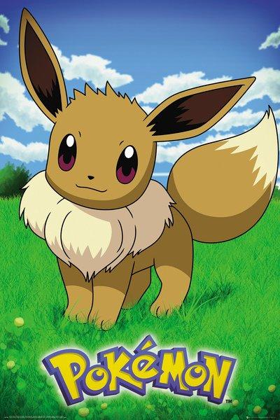 Plakát Pokémon - Eevee