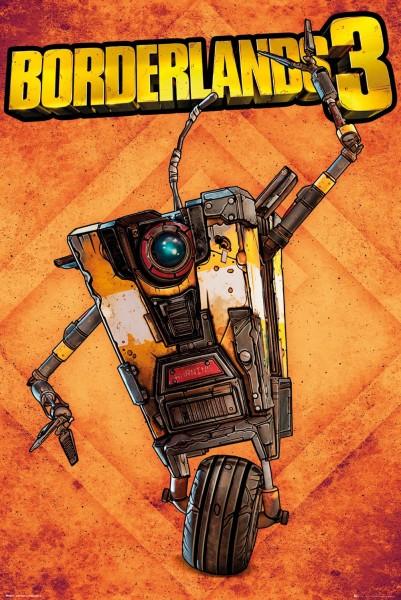 Plakát Borderlands 3 - Claptrap