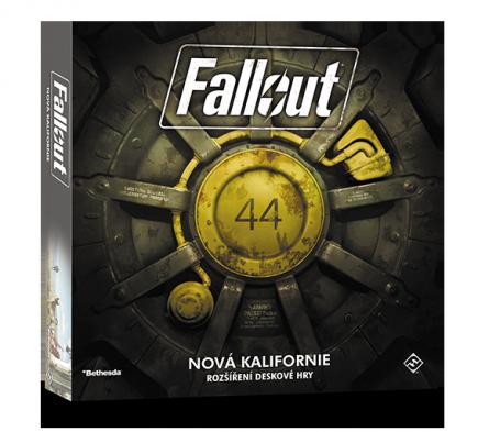 Desková hra Fallout - Nová Kalifornie CZ (rozšíření)