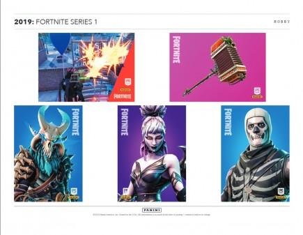 Sběratelské karty Fortnite - booster (Series 1)