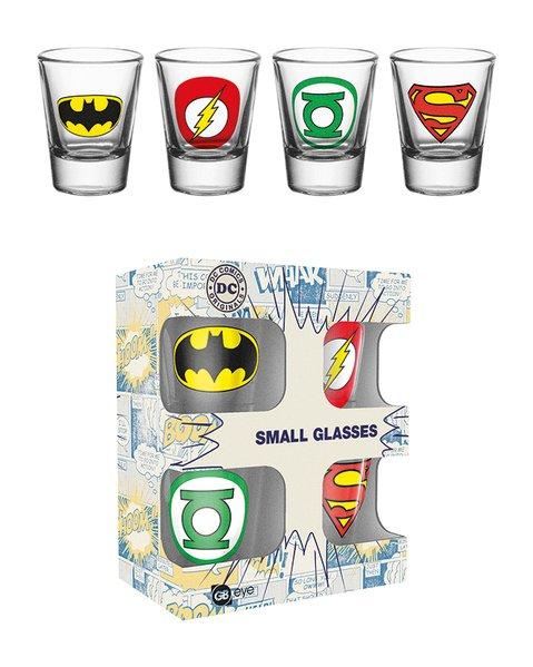 Skleničky DC Comics - Logos
