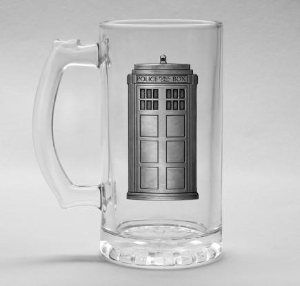 Sklenice Doctor Who - Tardis