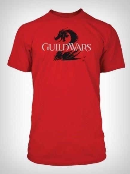 Tričko Guild Wars 2 - červené (velikost S)