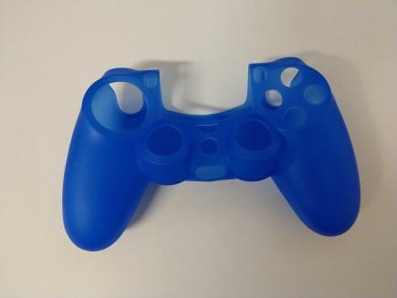 Silikonový kryt na DualShock 4 - tmavě modrý (PS4)