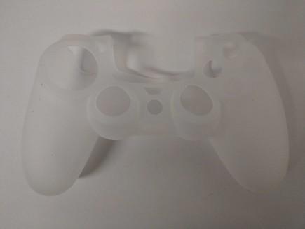 Silikonový kryt na DualShock 4 - bílý (PS4)