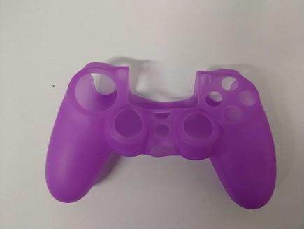 Silikonový kryt na DualShock 4 - fialový (PS4)
