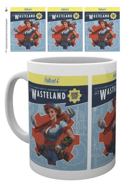 Hrnek Fallout - Wasteland