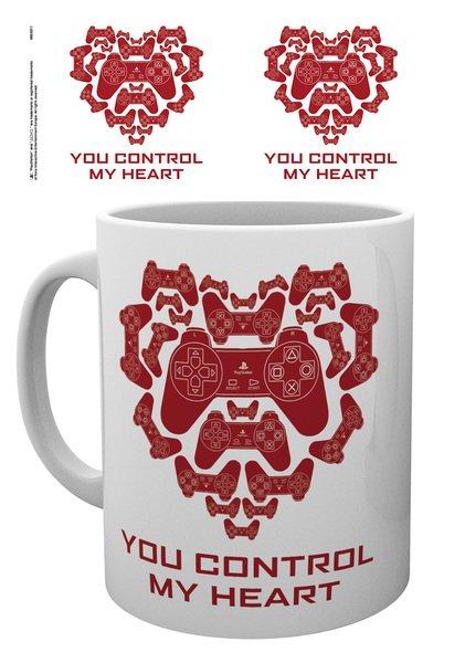 Hrnek PlayStation - You Control My Heart