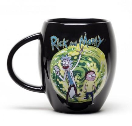 Hrnek Rick and Morty - Portal černý