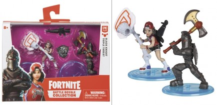 Figurka Fortnite Battle Royale Collection (Black Knight and Triple Threat)