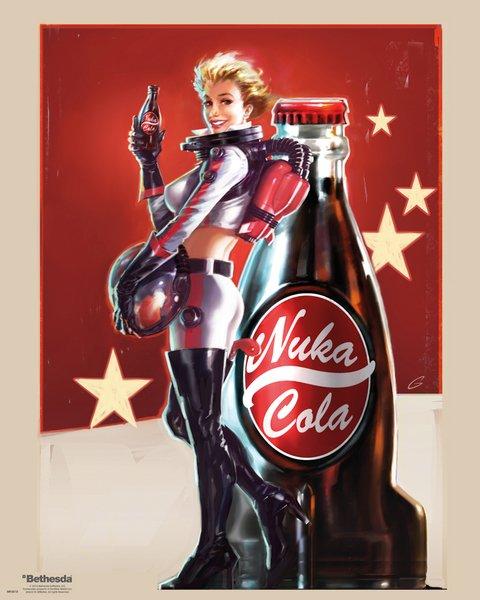 Plakát mini Fallout 4 - Nuka Cola