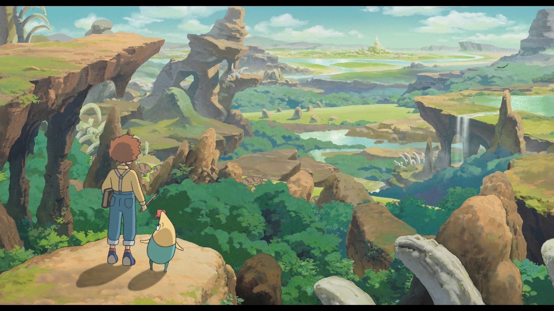 Ni No Kuni: Wrath of the 000000 Witch Remastered (PS4)