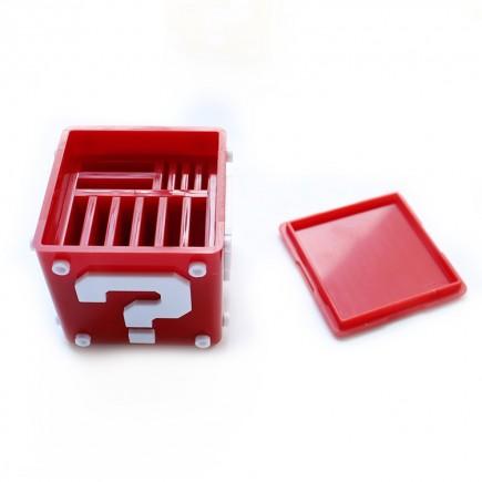 Krabička na herní karty Nintendo Switch - červená (SWITCH)