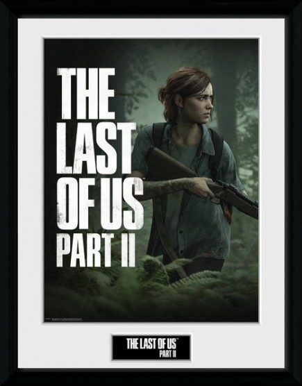 Zarámovaný plakát The Last of Us Part II - Key Art
