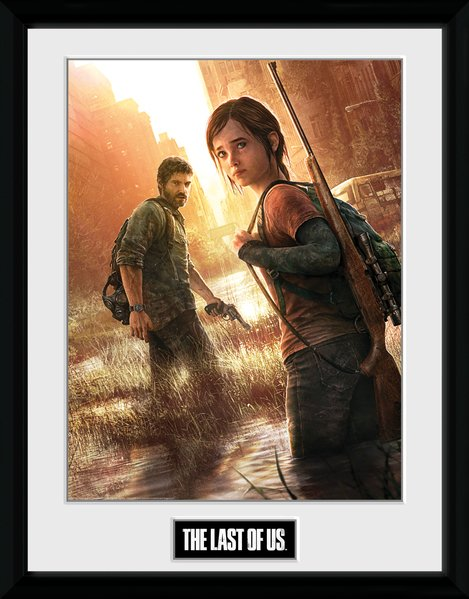 Zarámovaný plakát The Last of Us - Key Art