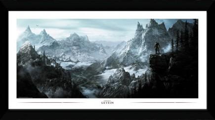 Zarámovaný plakát Skyrim - Vista