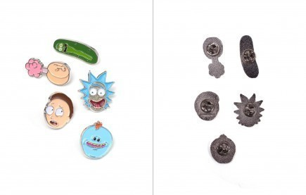 Odznaky Rick and Morty - Characters