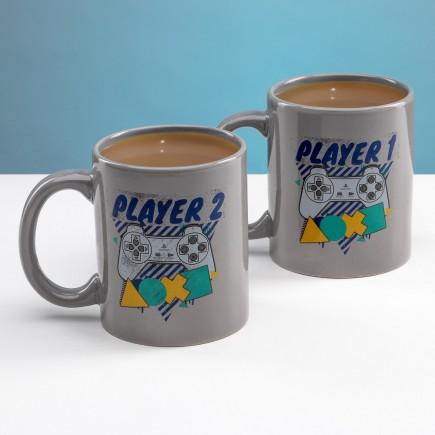 Hrnek PlayStation - Player One and Player Two Mug Set (sada 2 hrnků)