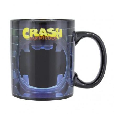 Hrnek Crash Bandicoot - Crash Bandicoot (Měnící se)