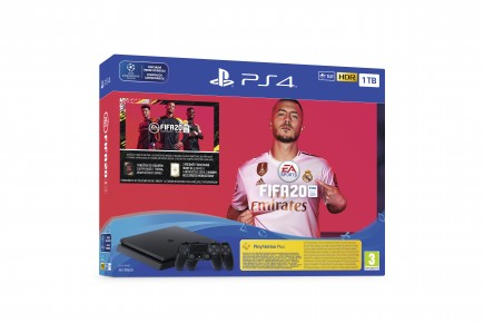 Konzole PlayStation 4 Slim 1TB + FIFA 20 + 2x ovladač (PS4)