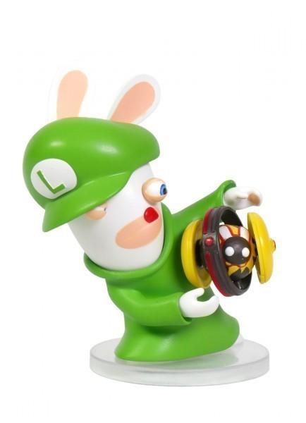 Figurka Mario + Rabbids Kingdom Battle - Rabbid Luigi (8 cm)