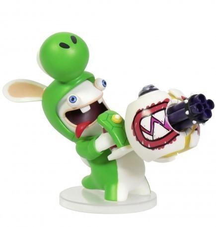 Figurka Mario + Rabbids Kingdom Battle - Rabbid Yoshi (16,5 cm)