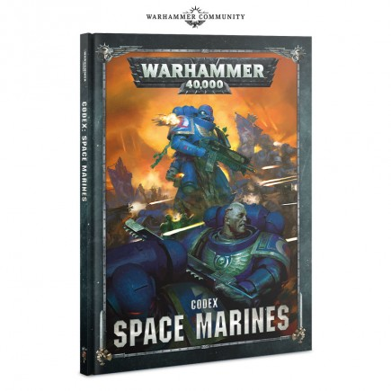 Kniha W40k: Codex: Space Marines (2019)