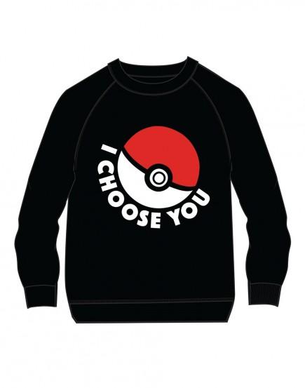 Mikina dětská Pokémon - I Choose You (velikost 140)