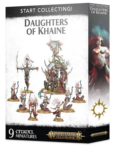 W-AOS: Start Collecting Daughters of Khaine (9 figurek)