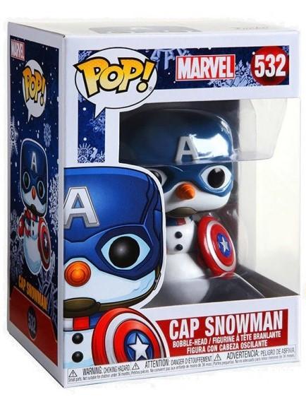 Figurka Marvel - Cap Snowman (Funko POP! Marvel 532)