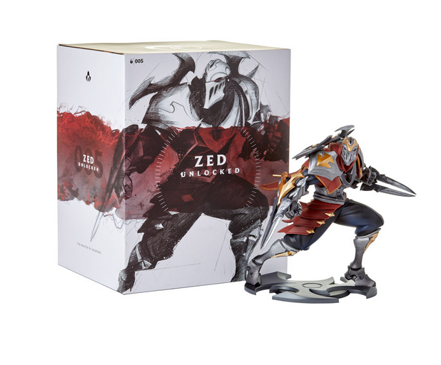 Figurka League of Legends - Zed Unlocked (23 cm)