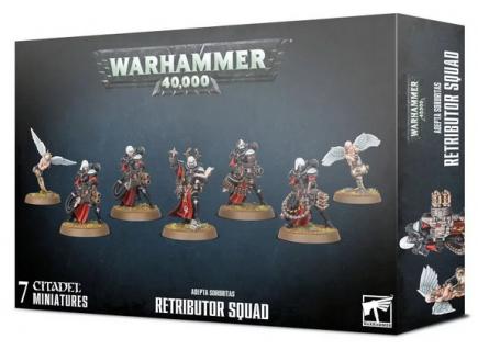 W40k: ADEPTA SORORITAS: Retributor Squad (7 figurek)