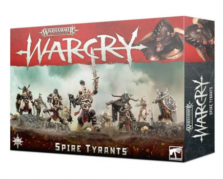 W-AOS: Warcry - Spire Tyrants (9 figurek)
