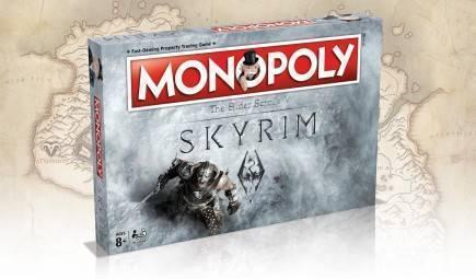Desková hra Monopoly Skyrim