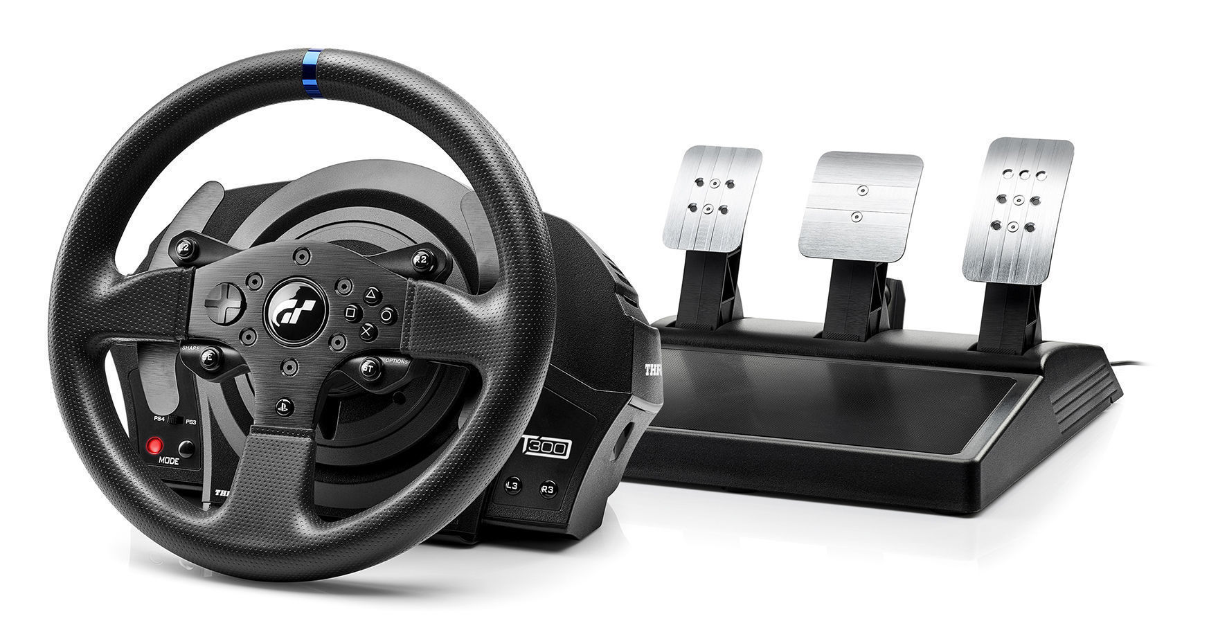 volant s ped ly thrustmaster t300 rs gt edice pc ps3 ps4 po ta ov hry pc volant. Black Bedroom Furniture Sets. Home Design Ideas