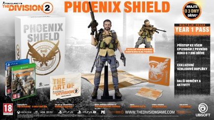 The Division 2: Phoenix Shield Edition (PS4)